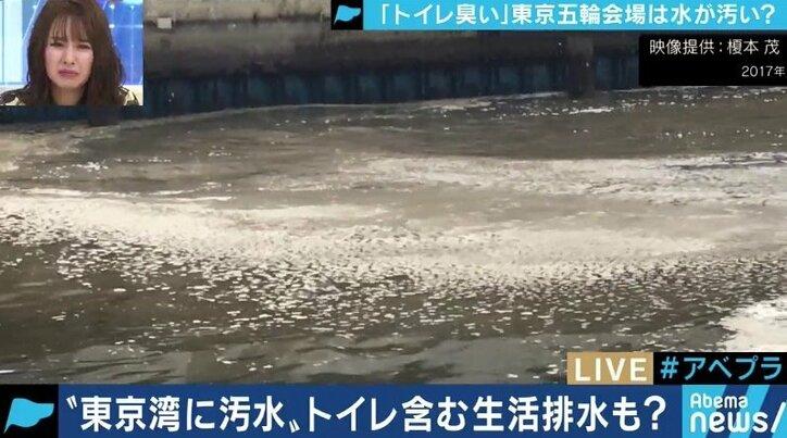 「残ったトイレットペーパーが泡のように…」「五輪には到底間に合わない」お台場の汚水に衝撃…今からでもできる東京湾の対策は