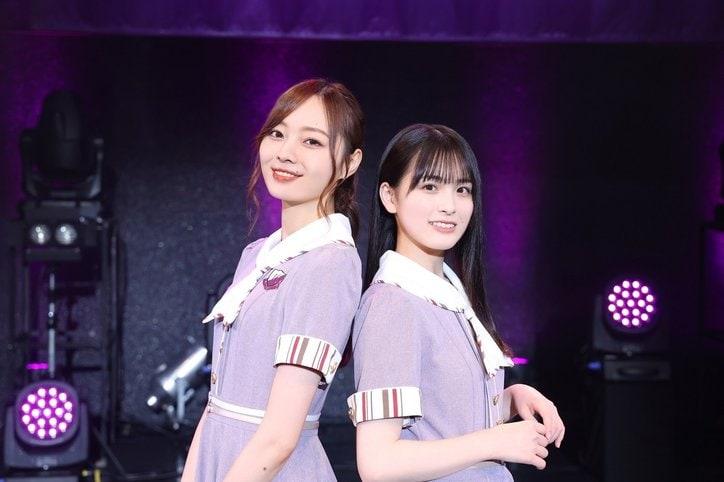 乃木坂46大園桃子がラストライブを前に同期・梅澤美波と涙の対談「掛け替えのない仲間ができました」