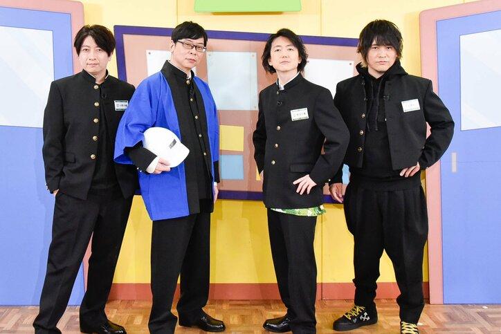 菅沼久義・近藤孝行・間島淳司・小野大輔インタビュー「『よつば音楽学院』をぎゅっと凝縮したらこのアルバムになりました」