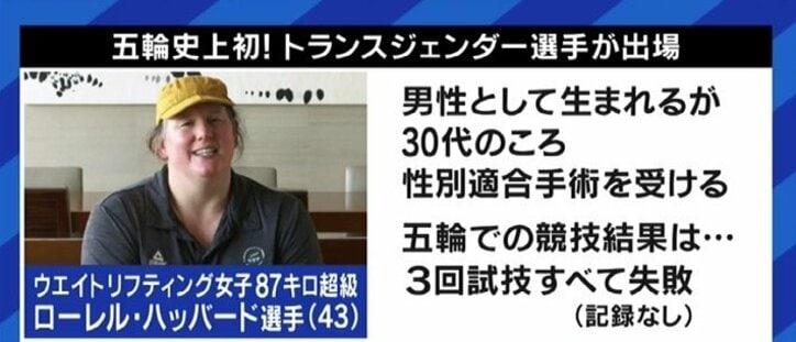 東京オリンピックで見えてきた課題 トランスジェンダーの選手への批判、テストステロンの値で選手が失格になるケースも