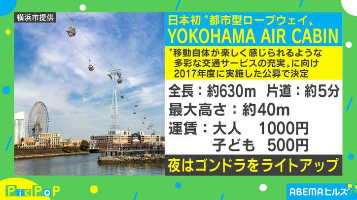 """日本初の""""常設都市型ロープウェイ""""が横浜に誕生 建築家・サリー楓氏、今後の都市開発は「移動手段にも着目」"""