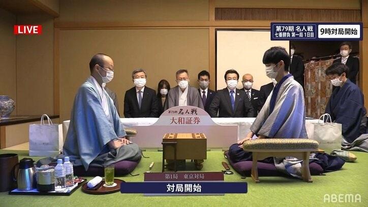 初防衛か、初名人か 渡辺明名人 対 斎藤慎太郎八段 名人戦七番勝負が開幕